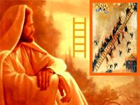 Во сне Иаков видел лестницу, ведущую в небеса, в матрице Мироздания!