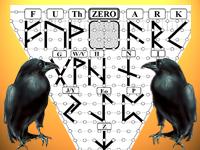 Рунический алфавит Футарк, Один, Валгалла, Брахма и Зевс в матрице Мироздания