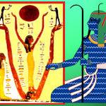 Египетский Бог Нун фактически тождественен ведическому Богу Маха Вишну. Эту тайну открыла матрица Мироздания