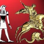 Гор победоносец или Гаруда в образе Георгия Победоносца на гербе России. Часть II