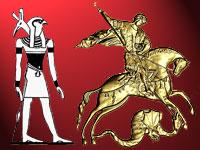 Гор победоносец или Гаруда в образе Георгия Победоносца на гербе России. Часть IV
