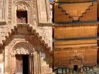 Фасады древнего замка Каср аль-Фарид на территории Саудовской Аравии и армянской церкви Святой Богородицы в Монастыре Нораванк это священные символы со знаниями о законах матрицы Божественного Мироздания